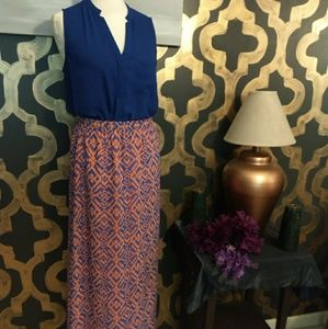 Fully Lined Maxi Skirt